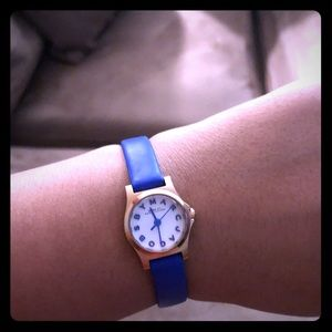 Mini Blue Marc Jacobs Watch as is